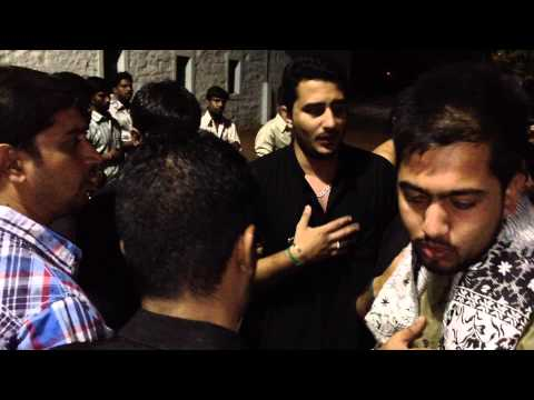 Qasid jake kehna - Pursa at Kohe Qayam Hyderabad (India)