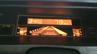Subaru XT Alcyone 1.8 Turbo MY1987 Power Upgrade on Dyno