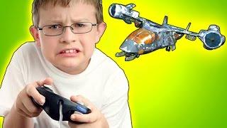 VTOL MAKES THEM RAGE! - Black Ops 2 Live FAL