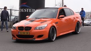 BMW M5 E60 V10 w/ Eisenmann Race Exhaust - Loud REVS + Acceleration!