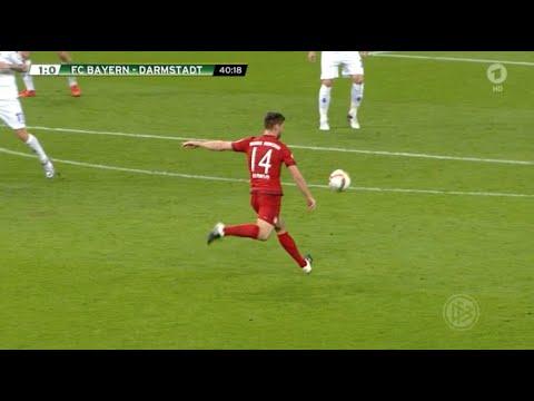Xabi Alonso Amazing Goal Traumtor - FC Bayern München vs. Darmstadt 1:0 HD 2015