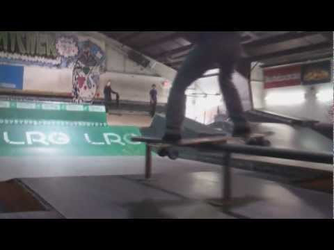 Longboarding the Indoor Skate Park / Bowl