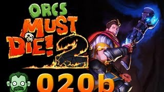 Let's Play Together: ORCS MUST DIE 2 #020 Part 2 - Liebäugeln mit der Dicken  [deutsch] [720p]