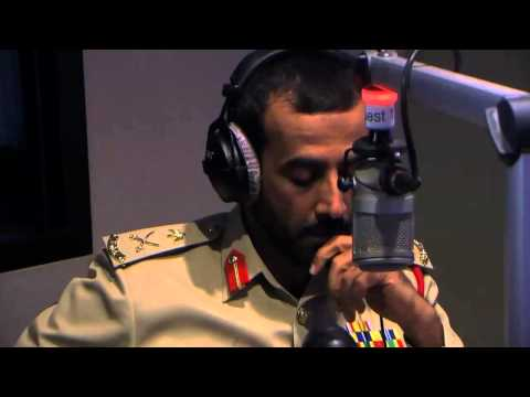 Q&A with Dubai Police Traffic Chief on Radio 2