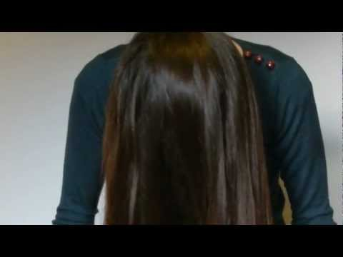 Slow Long Hair Brushing Asmr video