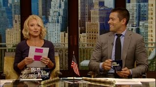 Kelly Ripa Reads Mark Consuelos