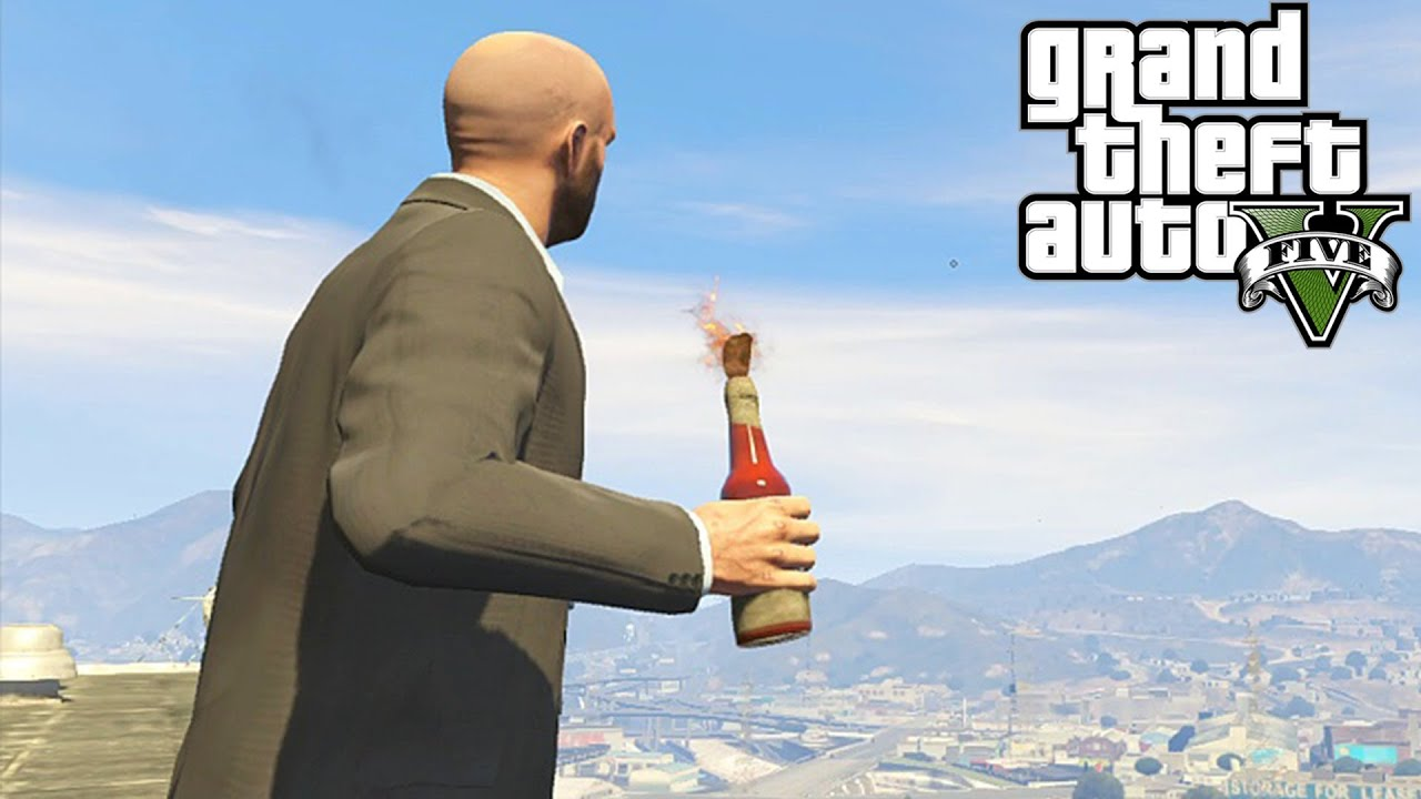 GTA 5: Secret Molotov Cocktail / Fire Bottle Locations! How To Get Molotovs (Grand ...1920 x 1080