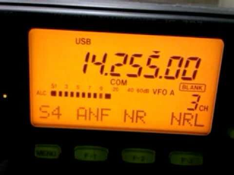 DF2DD/QRP with IC-703 & CO6LC on 20m SSB - BREAKING PILEUP