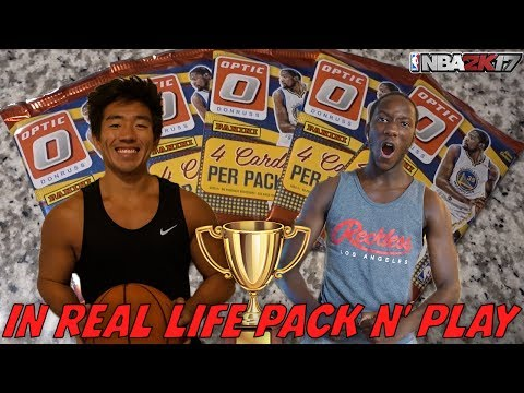 IRL PACK N' PLAY! SUPER STACKED SQUADS! NBA 2K17