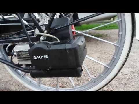 Rower Sparta z silnikiem SACHS  301/A model SPARTAMET multi power system