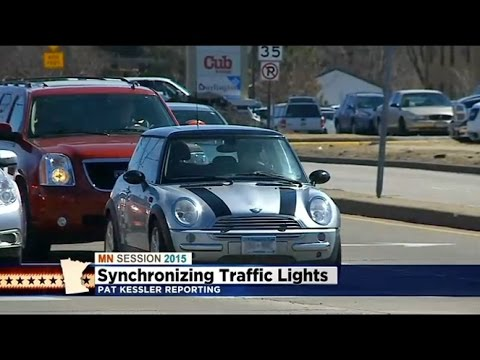[WCCO] Dayton Calls For Statewide Plan To Synchronize Traffic Lights