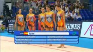 Spain 5 hoops World Championship Mie 2009