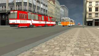 TRAINZ - the Russian city transport