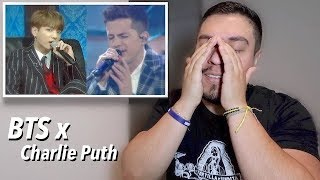 BTS JUNGKOOK X Charlie Puth - We don't talk anymore & FAKE LOVE LIVE Reaction