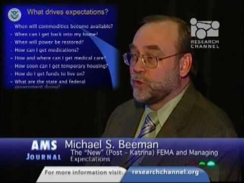"""The """"New"""" FEMA and Managing Expectations"""