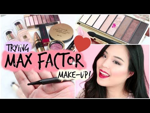 TRYING MAX FACTOR MAKE-UP!   Glam Holiday Look!