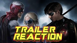 TITANS Official Trailer REACTION ( PREPARE TO FACEPALM )