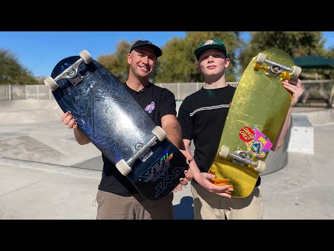 NATAS BLIND BAG PRODUCT CHALLENGE WITH ROMAN HAGER & ANDREW CANNON! | Santa Cruz Skateboards