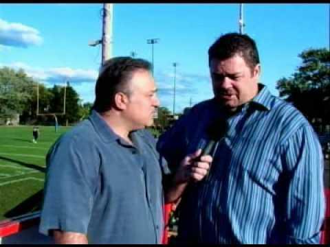 Pre Game Show - Windsor Ako Fratmen Vs St.leonard Cougars   August 29th 2009 video