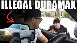 "Cop Pulls Over Duramax For ""ILLEGAL"" Mods..."