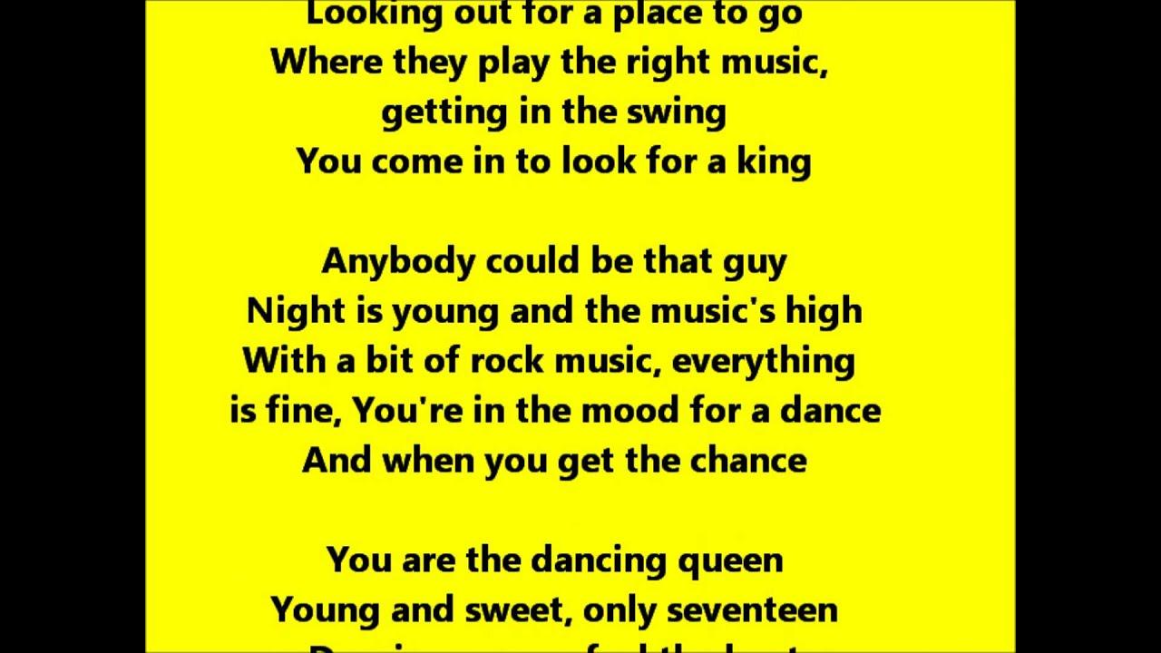 Dancing Queen Glee Cas...