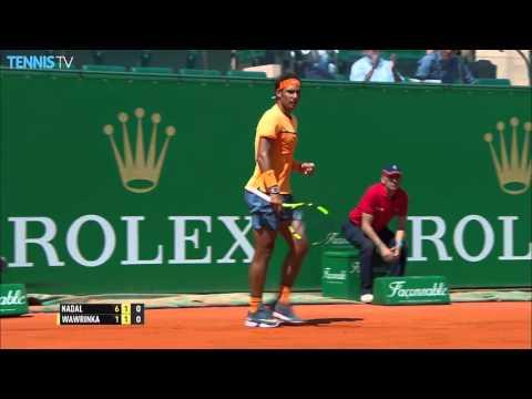 Nadal Speeds Shot Past Wawrinka Hot Shot Monte Carlo 2016