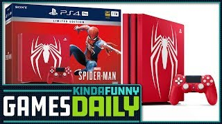Sexy Spider-Man PS4 Pro Bundle Announced! (w/Mike & Mike) - Kinda Funny Games Daily 07.20.18