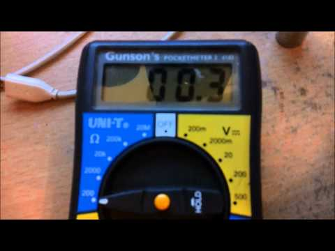 measuring an atomizers resistance with a multimeter