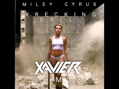 miley cyrus wrecking ball xavier remix youtube. Black Bedroom Furniture Sets. Home Design Ideas