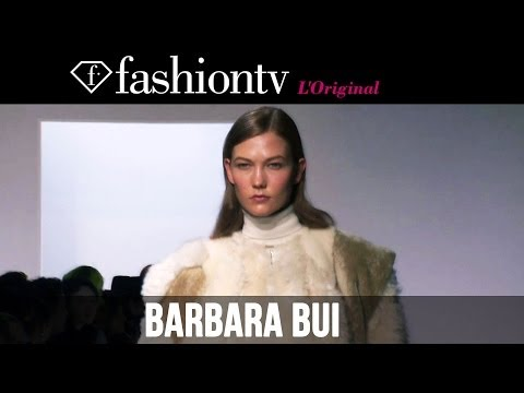 Karlie Kloss at Barbara Bui Fall/Winter 2014-15 | Paris Fashion Week PFW | FashionTV