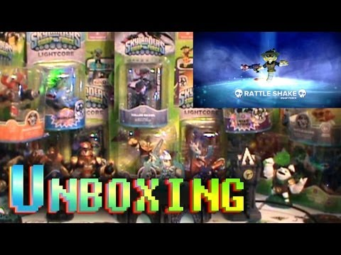 [HD] Skylanders Swap Force SUPER UNBOXING - 22 Character Showcase + Game Display