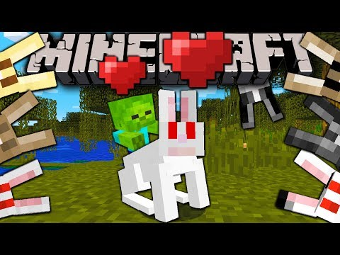 Minecraft 1.8 Snapshot: Deadlier Killer Rabbit Bunny Jockeys Dinner Bunnies Caerbannog Rabbits