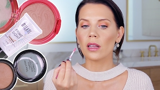 DRUGSTORE MAKEUP | Try-on HAUL