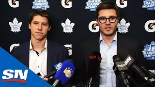 Mitch Marner And Kyle Dubas Discuss Six-Year Contract With Maple Leafs | FULL Scrum