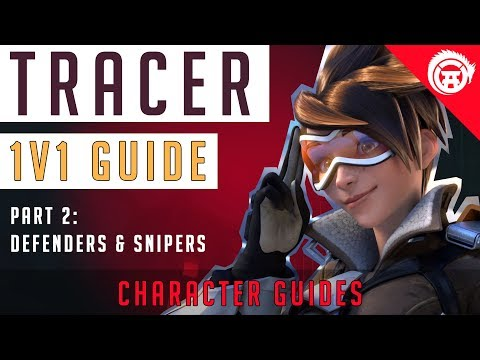 Overwatch How To Tracer Guide: 1v1 vs Defenders, Snipers, Builders p2/4 | OverwatchDojo