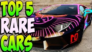 GTA 5 - Top 5 RARE & SECRET CARS Online - Best Rare & Secret Vehicles Online Locations