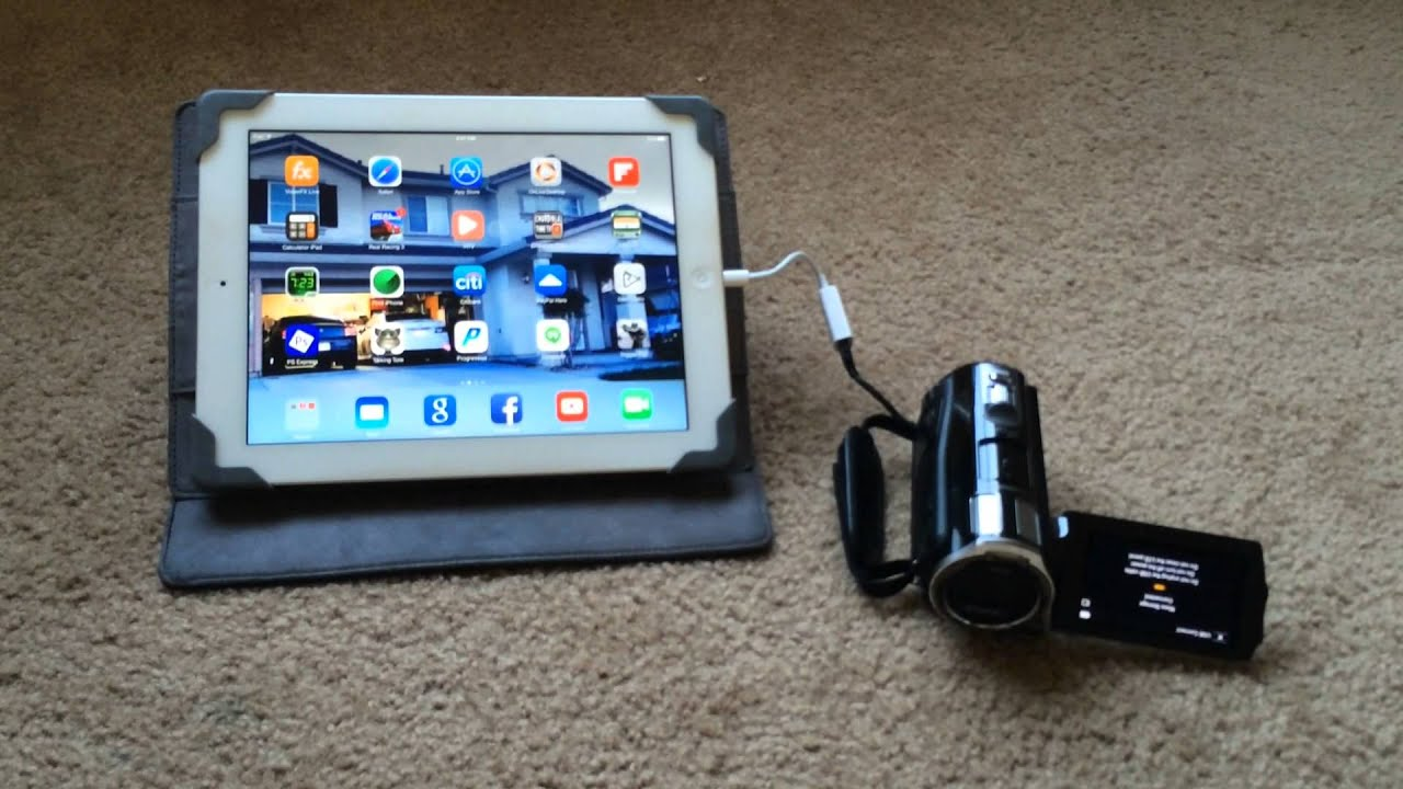 how to connect your ipad to your tv youtube