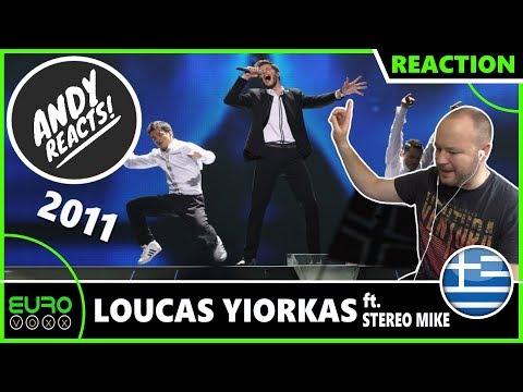 ANDY REACTS! Loucas Yiorkas - Watch My Dance ft. Stereo Mike (Greece 2011) EUROVISION REACTION!