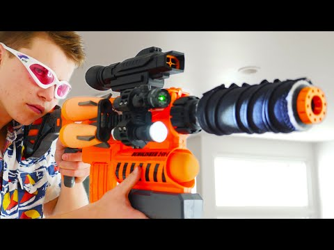 Nerf War: 3 Million Subscribers