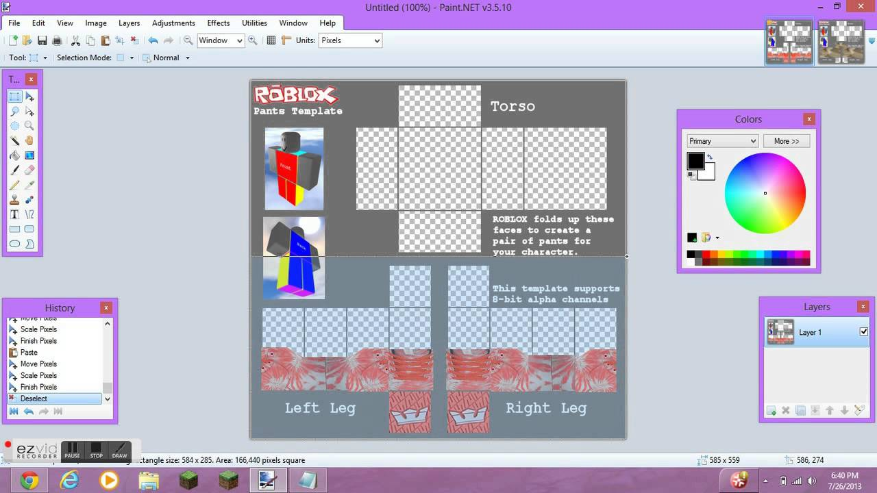How To Make Shoes On ROBLOX YouTube