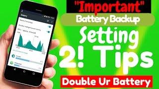 अगर आपकी Smartphone 📱 की बैटरी 🔋 जल्दी खत्म हो जाती है ? तो फिर आप इस वीडियो को जरूर देखे !!