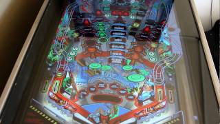 Judge Dredd - visual pinball cabinet with HyperPin