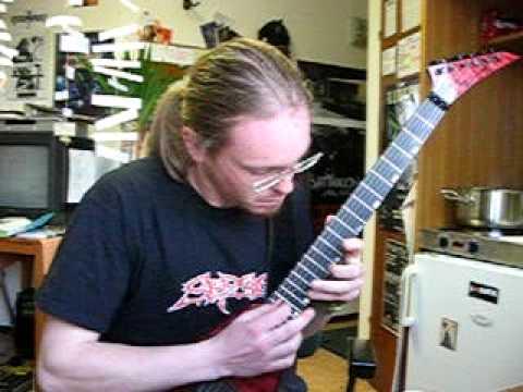Stabwound solo - guitar lesson