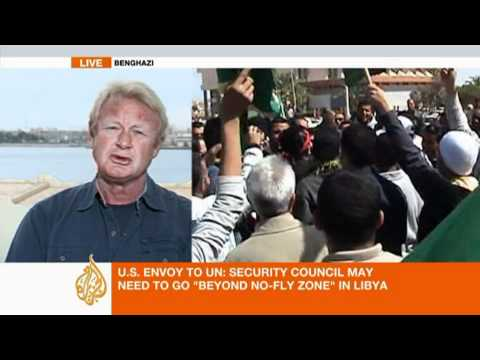 Latest update on Libyan uprising