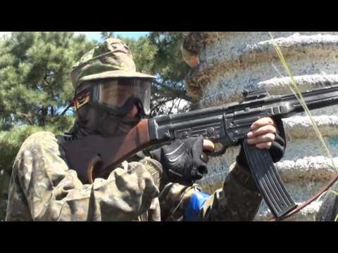 OP Battle For MUNG Airsoft Action - Masada. SAW. STG44. WE 416. PTW. M14. AK. M4. G36. SCAR