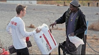 Christmas Gifts for the HOMELESS! (PURE JOY)