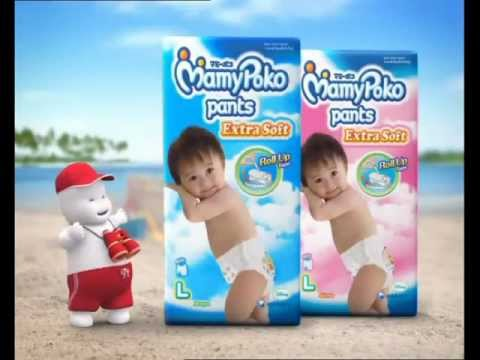 Mamypoko Pants Holiday beach Ball video