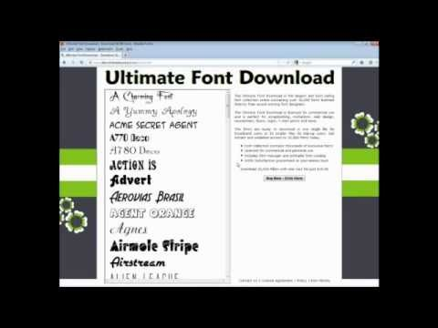 Ultimate Font Download Overview; cyrillic fonts, sans serif fonts, hindi fonts download, nepali font