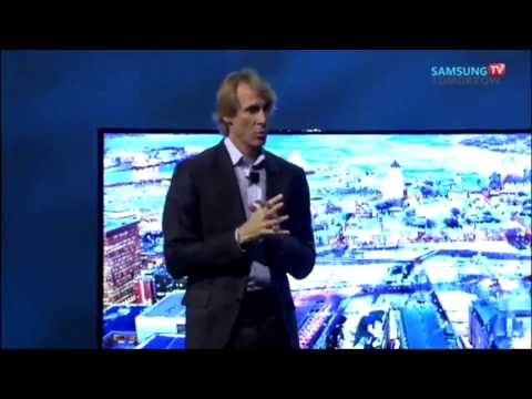 Michael Bay walks off Stage during CES 2014 Samsung Keynote: Teleprompter Didnt Work