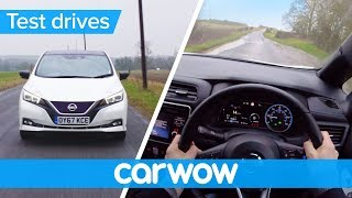 Nissan Leaf 2018 POV review   Test Drives